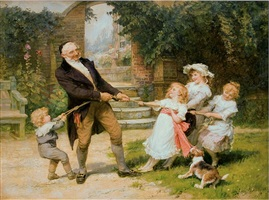 tug-of-war by frederick morgan