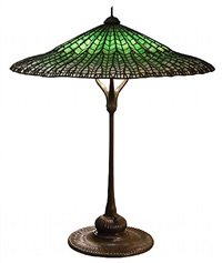 'lotus pagoda' table lamp by tiffany studios