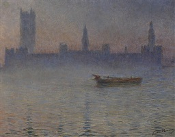 brouillard sur la tamise by gaston prunier