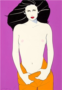 playboy after hours by patrick nagel