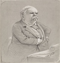 senator vest of missouri by thomas nast