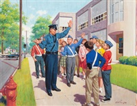 safety patrol by arthur saron sarnoff
