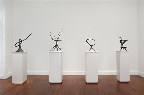installation view: calder: the complete bronzes by alexander calder