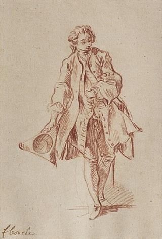 study for « le médecin malgré lui » by françois boucher
