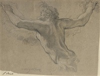 study for a satyr by michel dorigny