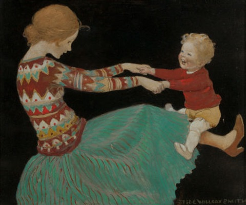 the playful child by jessie willcox smith