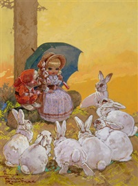 children's book story illustration by harry rountree