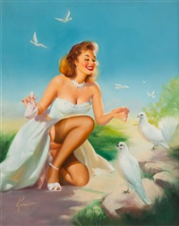 pleasing her flock by edward runci