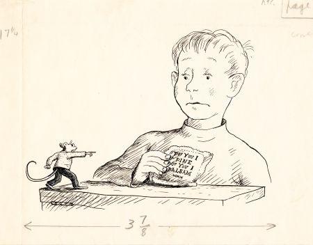 A Test For Harry Illus For Stuart Little By Garth Williams On Artnet