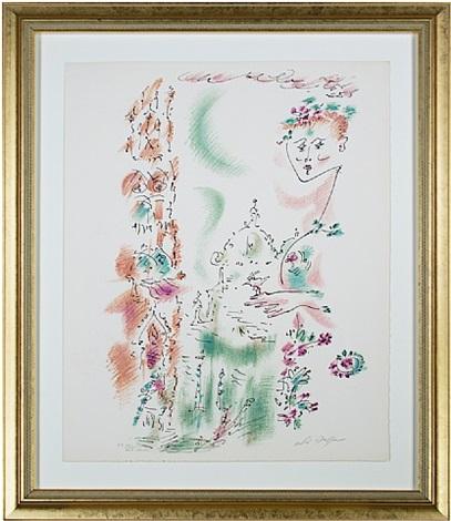venise en fleurs from je reve (i dream) portfolio (inventory #5909d) by andré masson