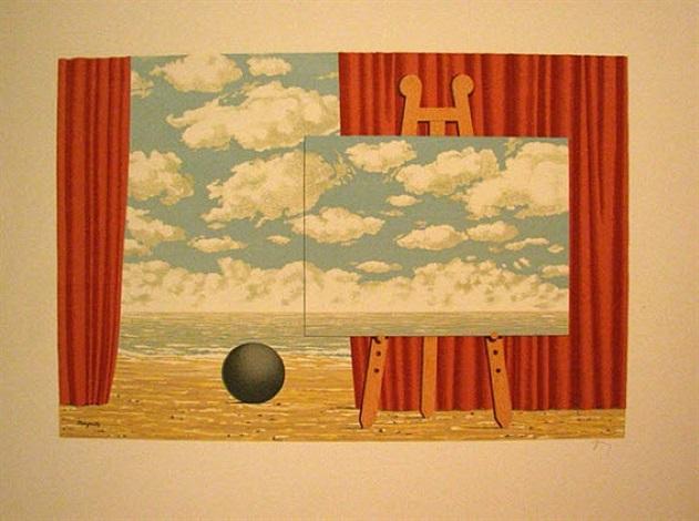 from les enfants trouvés by rené magritte