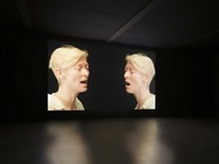 exhibition view by doug aitken