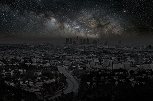 los angeles 34° 03' 20'' n 2010-10-9 lst 21:50 by thierry cohen