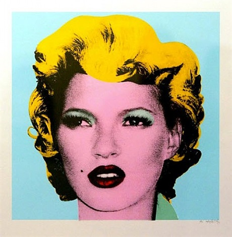 kate moss (original colourway) by banksy
