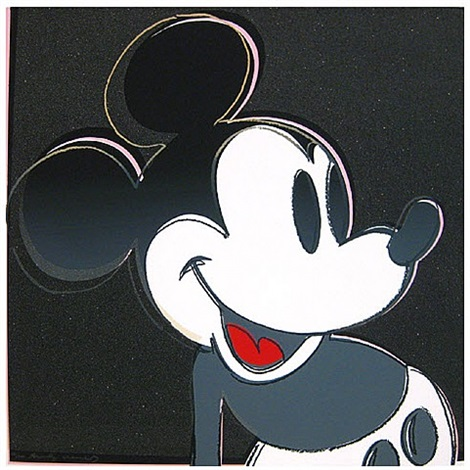 myths - mickey mouse by andy warhol