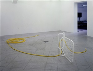 we climb inside and everything else disappears by martin boyce
