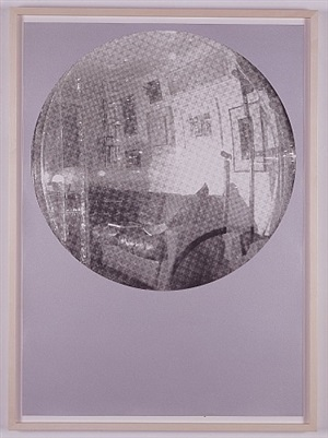 luther's studio as seen through one of his works by angela bulloch