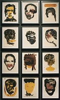 faces series by bontempo