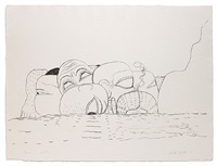 sea by philip guston