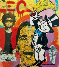 graffiti scene by alec monopoly