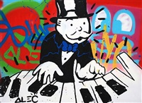 piano graffiti by alec monopoly