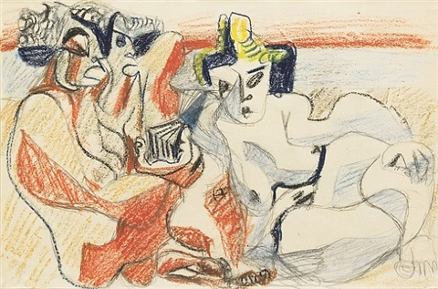 three nudes by le corbusier