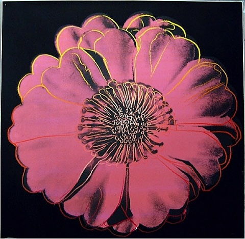 flower for the tacoma dome by andy warhol