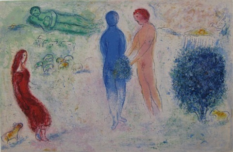 chloe's judgement by marc chagall