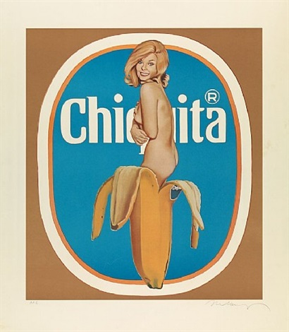 chiquita by mel ramos