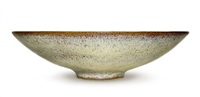chrystalline bowl by gertrud and otto natzler