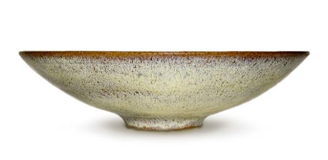 chrystalline bowl by gertrud and otto natzler
