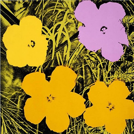 flowers f&sii.67 by andy warhol