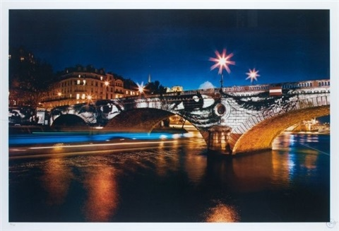 bridge of paris by jr