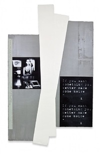 untitled (if you want ...) by astrid klein
