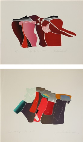 untitled 2 works by john chamberlain