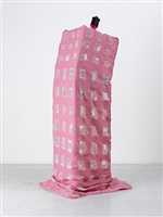 pink head bobber by anna galtarossa