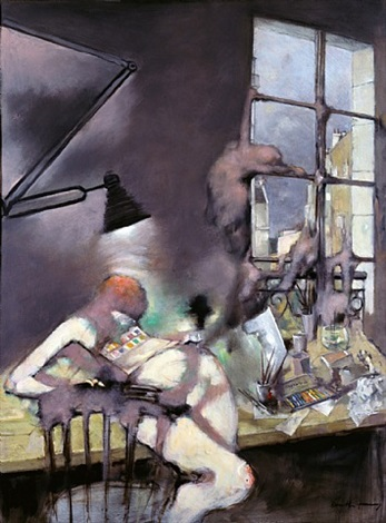 still in the studio by dorothea tanning