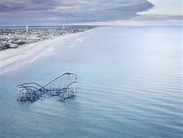 hurricane sandy, seaside heights, nj, 2012 by stephen wilkes