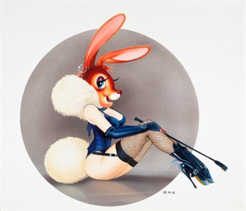 bunny by chris achilleos