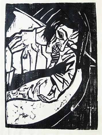 müde by erich heckel