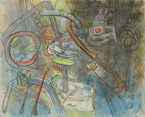 invisible meetings by roberto matta