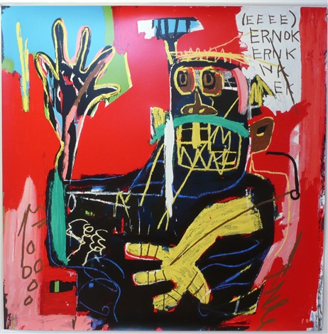 ernok by jean michel basquiat