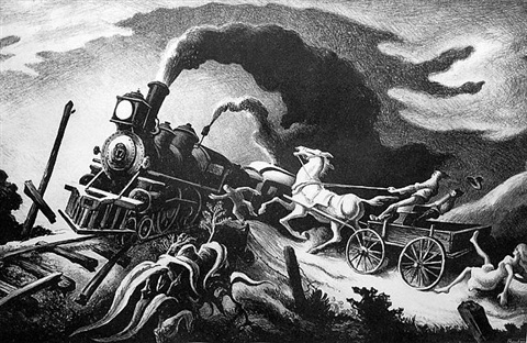 wreck of the old 97 by thomas hart benton