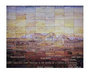 melancholy landscape vii by imants tillers