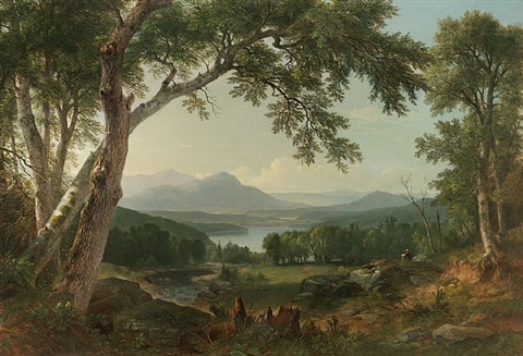 landscape by asher brown durand