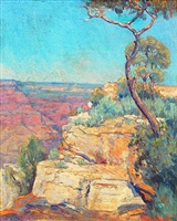 view of the grand canyon by dawson dawson-watson