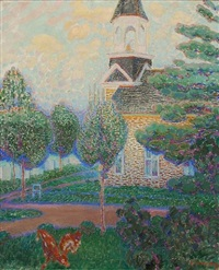 rural church by harry bainbridge mccarter