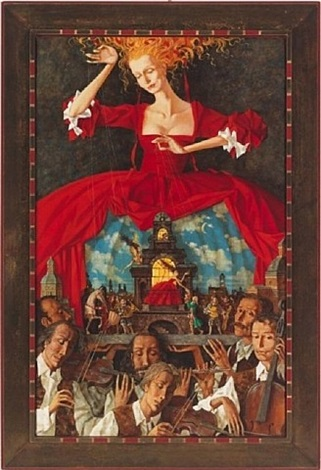 la nuit italienne by roman zaslonov