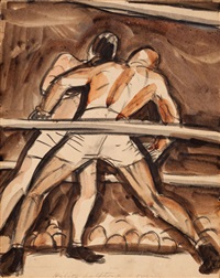 first round by peter arno