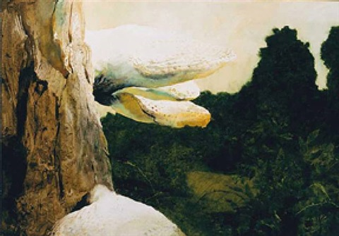 giant dryads by jamie wyeth